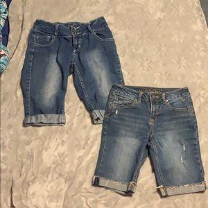 Girls burmuda shorts